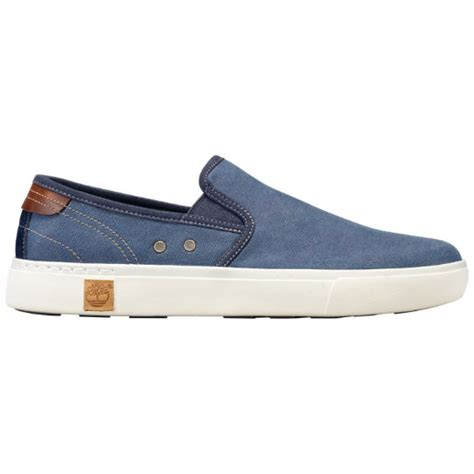 timberland s amherst canvas slip on shoes