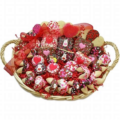 valentines gift baskets sweethearts bakery gift basket gift