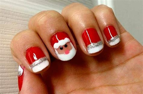 christmas themed nails 50 christmas nail art designs and trends 2016 page 2