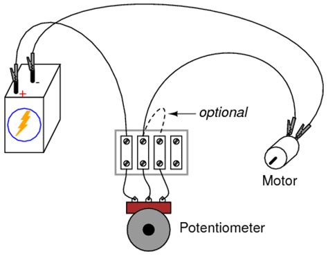 potentiometer as a rheostat dc circuits electronics