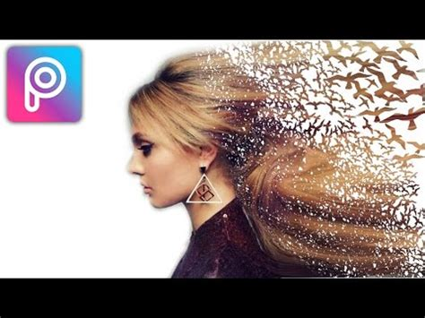 cara edit foto overlays di picsart full download cara edit foto disintegrasi efek serpihan