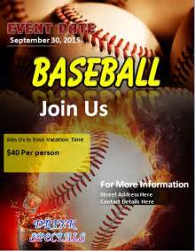 baseball flyer template baseball flyer template free formal word templates
