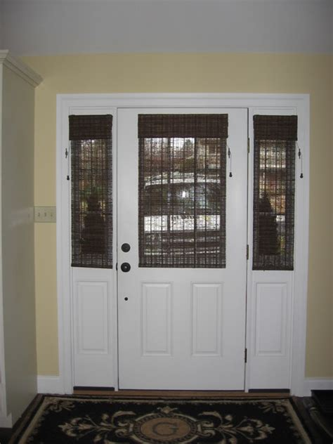 Front Door Window Shades Glass Door Solution Window Treatments Philadelphia By Blinds Designs