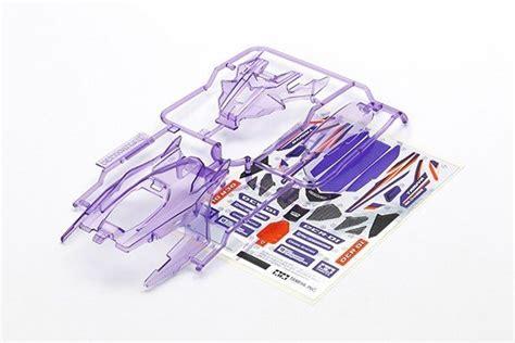 Tamiya Dcr 01 Part Set Clear Purple tamiya 95373 dcr 01 parts set clear purple