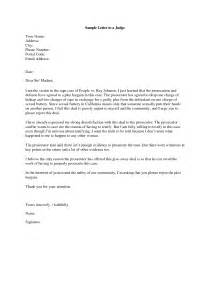 Letter To A Judge Template by Sle Character Reference Letter To Judge Before