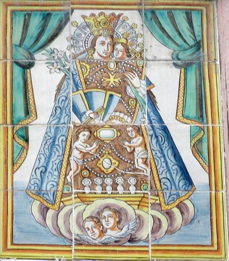 imagenes de la virgen de guadalupe en azulejo retablos ceramicos virgen de los desamparados
