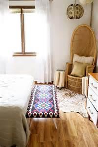 rug bench rug bench diys to nail the bohemian home for