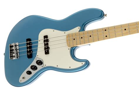 Bass Fender Jaz Bas Sunbrs 2 fender standard jazz bass 174 maple fingerboard lake placid