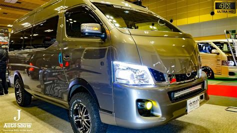 nissan caravan modified 4k nissan nv350 caravan urvan modified 日産キャラバンnv350カスタム