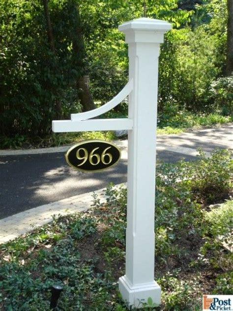 l post address sign address post yard stuff pinterest decks house and