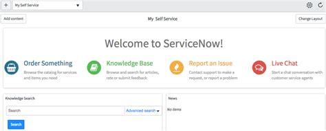 servicenow layout service portal style homepage widgets servicenow guru