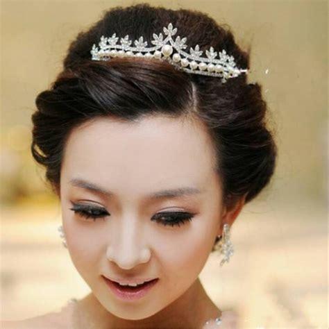 jual tiara rambut pengantin mahkota wanita aksesoris