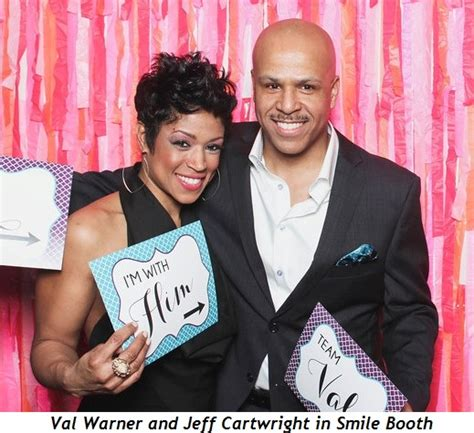 val warner get married 1 val warner and jeff cartwright in smile booth