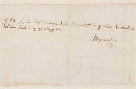 mozart lettere mozart letter fetches 217 000 at auction days of