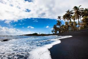 Black Sand Beaches Hawaii by Gallery For Gt Black Sand Beach