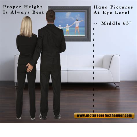 proper picture height 28 height to hang picture m interiors the