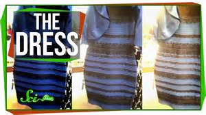 why do i see colors when i my the science of that dress