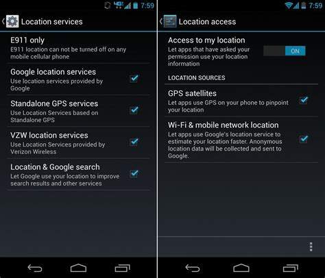 enable location services android how to enable gps and other location services beginners guide droid