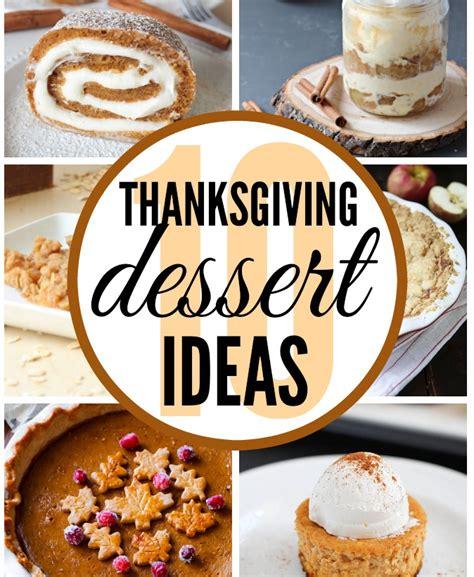thanksgiving dessert ideas classy clutter