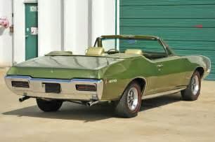 1968 Pontiac Gto Convertible 1968 Pontiac Gto Collectibility Price Specs Coupe