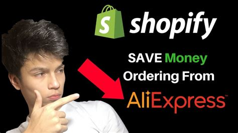 aliexpress dropshipping shopify how to save money ordering on aliexpress shopify