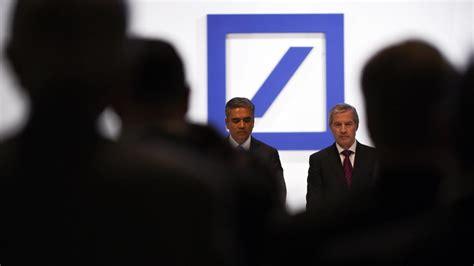 deutsche bank bilanz deutsche bank bilanz nach r 252 cktritt fitschen und jain