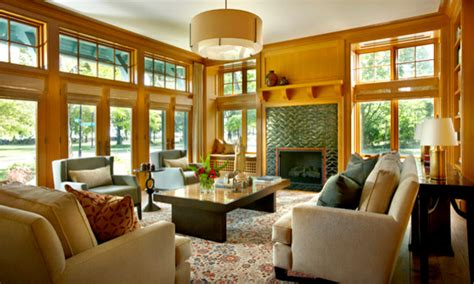 Arts And Crafts Living Room by New Arts And Crafts House Traditional Living Room Chicago By Stuart Cohen Julie Hacker