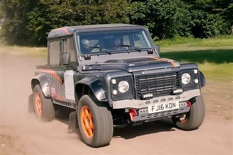 land rover bowler land rover defender with supercharged jaguar f type v6