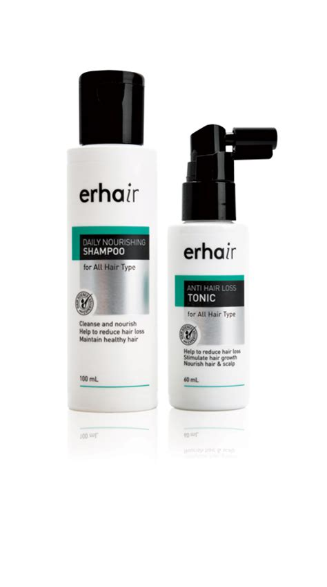Erhair Anti Hair Loss Tonic tips for hair treatments da magazine