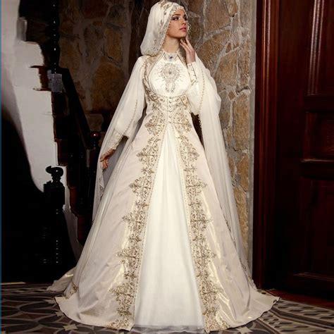 Muslim Wedding Dress by Muslim Wedding Dress With Simple Styles Hijabiworld