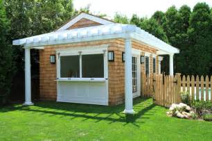 Cheap Backyard Sheds Spec House Pool House In Southampton Traditional Shed