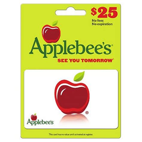 Applebee S Gift Card Discount - bjs com 25 applebee s discount gift card for only 18 99