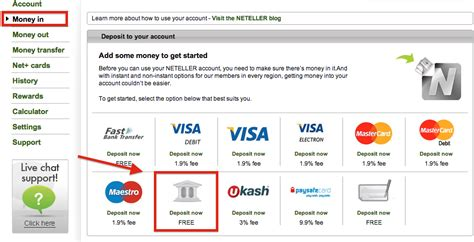 domestic bank transfer how to deposit into my neteller account