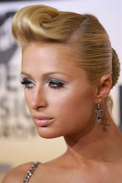 50s updo dallas texas paris hilton retro updo paris hilton updos looks