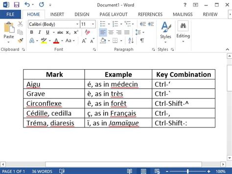 ene letter in keyboard how to type accent marks in microsoft word