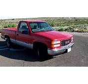Red 1998 GMC Sierra Single Cab Short Bed  YouTube