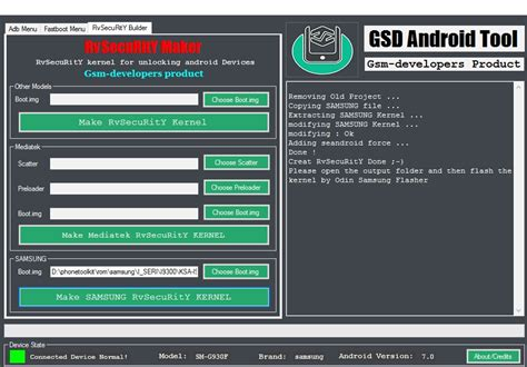 android tools dev tool gsd android tool rvsecurity maker android development and hacking