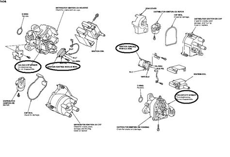 distributor wiring diagram for 95 honda civic distributor