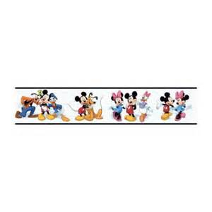Colorful Kitchen Rugs - disney 9 in mickey and friends border dk5915bd the home depot
