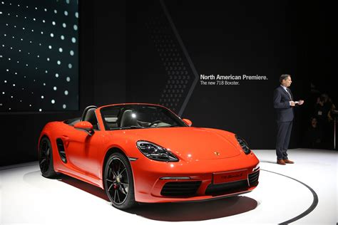 porsche cars 2016 porsche debuts three models at the new york auto show