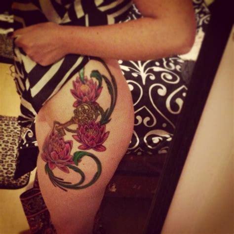tattoo my photo 2 0 unlock key lotus flower tattoo with key tattoo pinterest