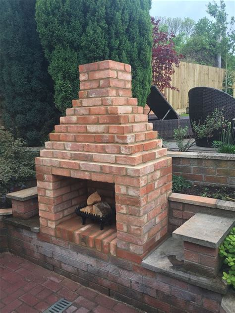 date snap shots simple outdoor fireplace