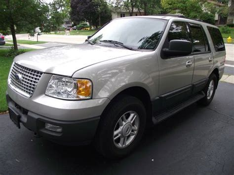 Expedition 6655 Silver Grey Leather purchase used 2003 ford expedition xlt 4x4 leather dvd new transmission no reserve in