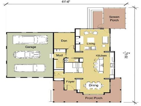 modern bungalow floor plans modern cottage floor plans modern floor plans one bedroom