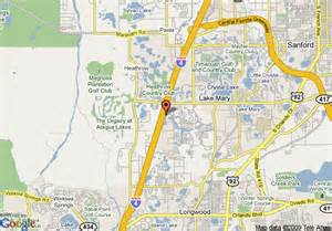 map of extended stay america orlando lake lake