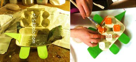 maquetas de tortugas con botella una caja tortuga de cart 243 n y papel para guardar cositas