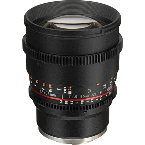 Samyang Lens 85mm T15 Vdslr Mk Ii For Sony Nex samyang 85mm t1 5 vdslr mk ii cine lens sony nex