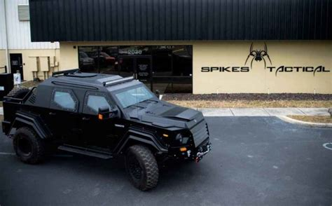 tactical vehicles for civilians spike s tactical gurkha rpv by terradyne armored