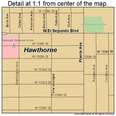 hawthorne california hawthorne california map 0632548