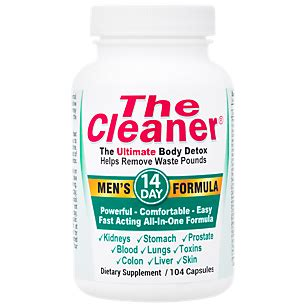Detox Pills Vitamin Shoppe by The Cleaner 14 Day S Formula 104 Capsules By Century
